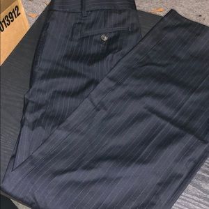 J.Crew Navy Blue pinstriped dress pants